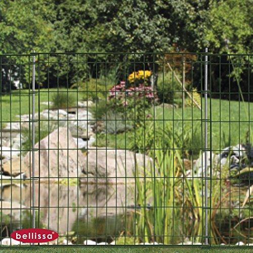 Teichschutzzaun Ambient ohne Schnörkel 2-er Set 10109