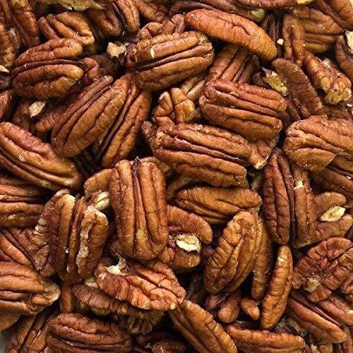 500g naturbelassene Pekannüsse - halbe Kerne, versandkostenfrei (in D), Pecannüsse ungesalzen und ohne Zusätze (Gesalzene Nüsse Pekannüsse)