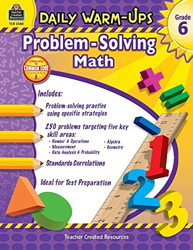 Daily Warm-Ups: Problem Solving Math Grade 6 (Daily Warm-Ups: Word Problems) by Robert W Smith (2011-07-30)