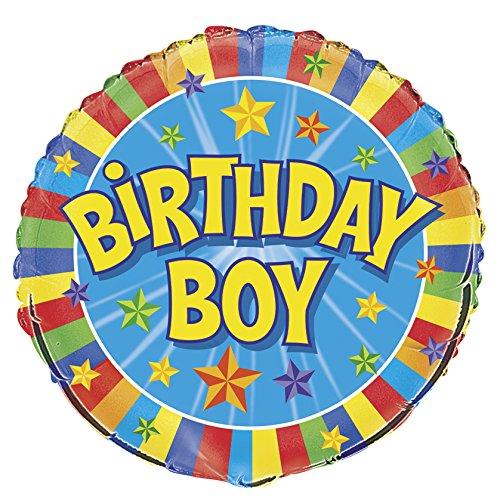 n Birthday Boy (Happy Birthday Ballons Mit Namen)