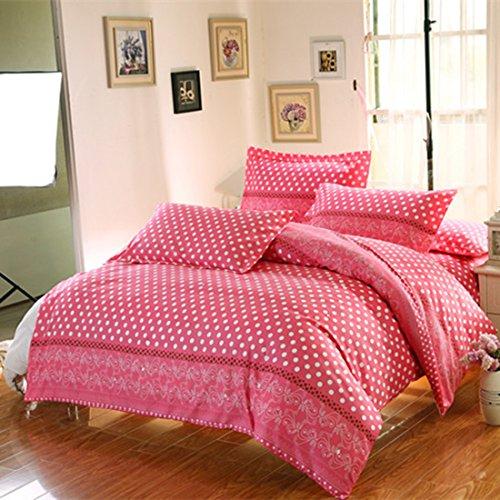 Preisvergleich Produktbild sourcingmap® Single Queen King Super Kissenbezug Schlafdecke Matratze Bettzeug set