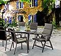 Sieger 5624 4724 Niederlehner-Auflage, 100% Strukturpolyester, ca. 108 x 49 x 4 cm, mocca von Sieger - Gartenmöbel von Du und Dein Garten
