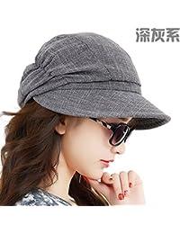 YXLMZ Señoras Mujeres Sombreros Exterior Plegable Sombrero para el Sol del  Verano Ocio Sunscreen W Hat 8cd706fcad0