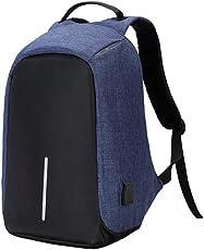 Laptop Rucksack Business für 12-14 Zoll Notebook mit USB-Ladeanschluss, wasserabweisend und Anti-Diebstahl Design