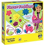 Creativity for Kids Fleece Fashions Scarf, Gloves & Headband Making Kit by Creativity for Kids