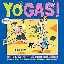 Yogas! Explosive 2018 Calendar