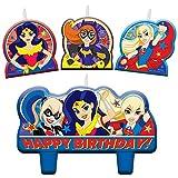 DC Comics Superhero Filles Bougie d'anniversaire Ensemble