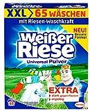 Weißer Riese Universal Pulver, Waschpulver, 1er Pack (65 Waschladungen)