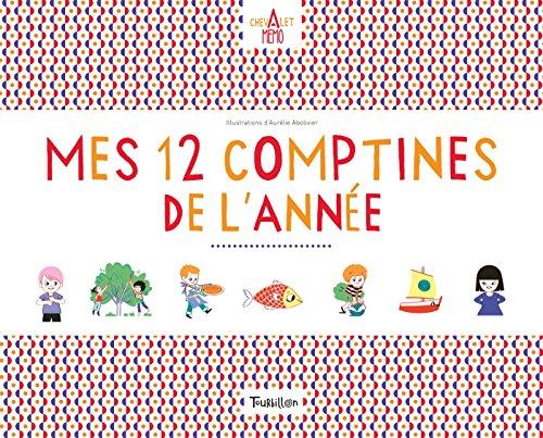 Chevalet Memo - Mes 12 comptines de l'année (Activités Montessori)