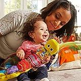 """Lamaze Babyspielzeug mit Musik """"Musik-Wurm"""" mehrfarbig – hochwertiges Kleinkindspielzeug – fördert den Tastsinn und das Hörvermögen Ihres Kindes – ab 0 Monate - 11"""
