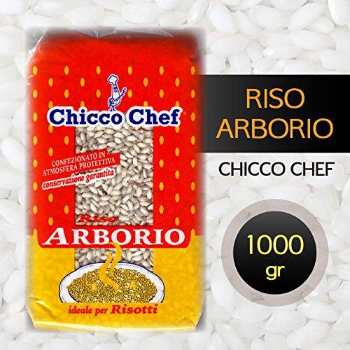 RISO ARBORIO Chicco Chef (Risotto-Reis) aus Piemont (1000 gr)