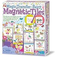 4M Magic Transfer Fairy Magnetic Tiles: Arte con Pintura (00-04685)