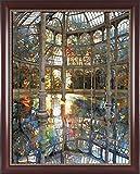 Superluckty Gerahmtes Gemälde nach Zahlen nach Zahlen für Wohnkultur bemalte Leinwand Gemälde cm Gewächshaus 40x50cm