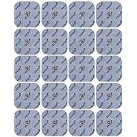 20 Stück. Druckknopf - Elektroden Pads, passend zu TENS - EMS Geräten: Sanitas SEM 40, 41, 42, 43, 44 u. Beurer EM 40 / EM 41 / EM 80