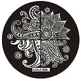 Tonsee 1 Stück 7 Stile verfügbar DIY polnische Schönheit Charme Nail Stempel Stempeln Platten 3d Nail Art Vorlagen Schablonen Maniküre Tools (Stil 4)