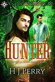 Hunter: Elsewhere Gay Fantasy Romance by [Perry, H J]
