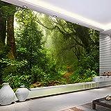 Tapete Experten Große Mural painting3dthree-dimensional Wald Landschaft Tapete-Sofa-Bett im Wohnzimmer Hintergrund mit nahtloser-Tuch,