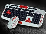 Drahtlose Tastatur Und Maus-Set Laptop-Gaming-Büro