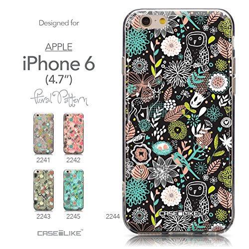 CASEiLIKE Wandschmierereien 2703 Ultra Slim Back Hart Plastik Stoßstange Hülle Cover for Apple iPhone 6 / 6S (4.7 inch) +Folie Displayschutzfolie +Eingabestift Touchstift (Zufällige Farbe) 2244