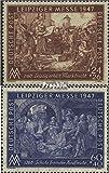 Alliierte Bes.-Gem.Ausg. 941-942 (kompl.Ausg.) 1947 Leipziger Messe (Briefmarken für Sammler)