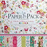 #3: KABEER ART Decorative Card Making Scrapbooking Paper Pack (24 Patterned Sheets+3 Die Cut Sheets) Sweet life