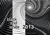 black and white 2013 (Wandkalender 2013 DIN A3 quer): Fraktalgrafiken in schwarz und weiß (Monatskalender, 14 Seiten)