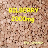"""The Vitamin BILBERRY 2000mg 30 tablets """"Eye Health"""" ~(L) from The Vitamin"""