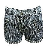 BlueEffect – Shorts filles short à motifs, bleu- 3789-9802