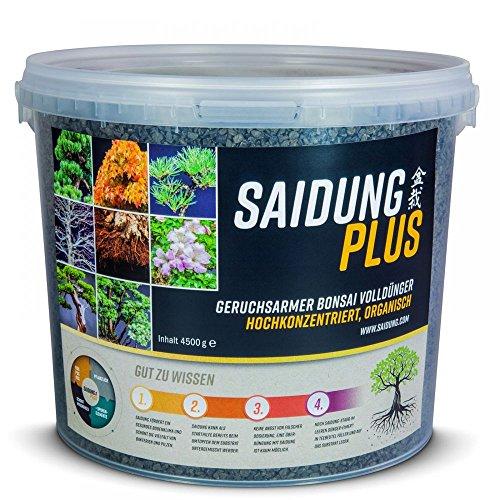 Saidung Plus 4500 gr. - Organischer fester Bonsai-Dünger 63171