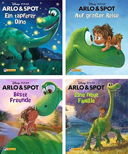 Preisvergleich Produktbild 4er Disney/Pixar Arlo und Spot 1-4 (Nelson Mini-Bücher)