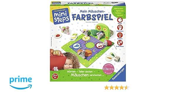 Ravensburger ministeps 04495 - Mein Mäuschen-Farbspiel: Amazon.de ...