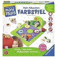 Ravensburger-ministeps-04495-Mein-Muschen-Farbspiel Ravensburger ministeps 04495 – Mein Mäuschen-Farbspiel - Start -