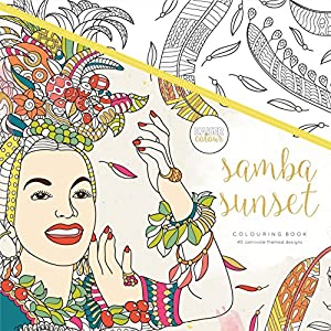 Kaisercraft - Libro para colorear Samba Sunset (CL522)