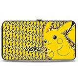 Buckle Down Unisexe Boucle en bas charnière Wallet - POKEMON Pikachu Pose jaune/noir