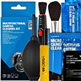 UES DSLR Digital Camera Cleaning Kit, All-Inclusive Sensor and Lenses Cleaning Travel Package