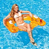 INTEX Sit'n Float Sessel 152x99cm Poolsessel Wassersessel Wasser Pool Matratze (orange)