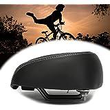 azurely Fietszadel, comfortabel en ademend fietszadel, multifunctioneel zadel voor heren en dames tijdens het fietsen, voor d