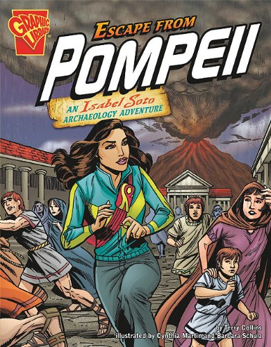 Escape From Pompeii (Graphic Expeditions) (Graphic Library: Graphic Expeditions)