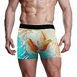 MONTOJ - Boxer da Uomo con Pesci acquerelli