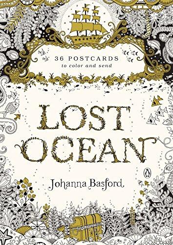 Lost ocean : 36 postcards por Johanna Basford