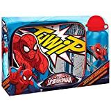 Set Bolsa portameriendas cantimplora aluminio Spiderman Marvel - Best Reviews Guide