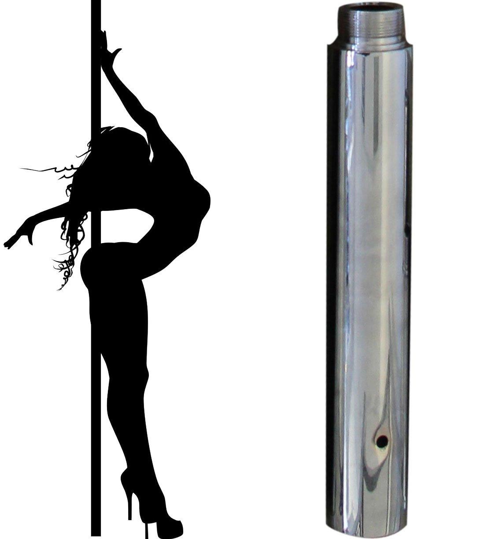1 x Profi Tanzstangenverlängerung 250mm für Ø 45mm GoGo Pole Dance Tabledance Strip Stange Static + Spinning Tanzstange…