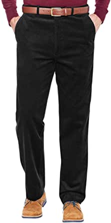 Chums | Mens | Corduroy Cotton Trouser Pants with Hidden Extra Waistband |