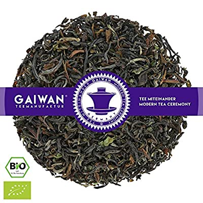 "N° 1132: Thé noir bio""Darjeeling Seeyok Inbetween FTGFOP1"" - feuilles de thé issu de l'agriculture biologique - GAIWAN GERMANY - thé noir de Inde"