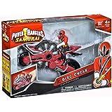 Bandai 31551 Power Rangers Samurai - Moto Power Ranger Rojo