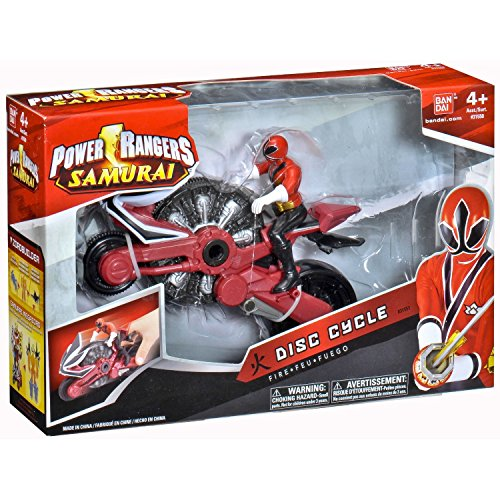 Power Rangers Samurai Bandai 31551 Moto Power Ranger Rojo