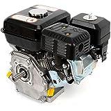 Benzinemotor, kartmotor, staande motor, aandrijfmotor, 4-taktmotor, 5100 W, 7,5 pk, oliebeveiliging, balkmaaier, grasmaaier,