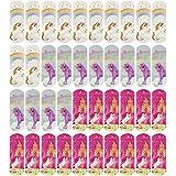 COM-FOUR® 40x Kinderpflaster mit Einhorn-Motiven, Pflaster-Strips in verschiedenen Farben, wasserabweisend, klinisch getestet, 57 x 19 mm (40 Stück - Einhorn)