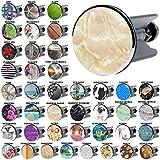Waschbeckenstöpsel Marmor Natur, viele schöne Waschbeckenstöpsel zur Auswahl, hochwertige Qualität ✶✶✶✶✶