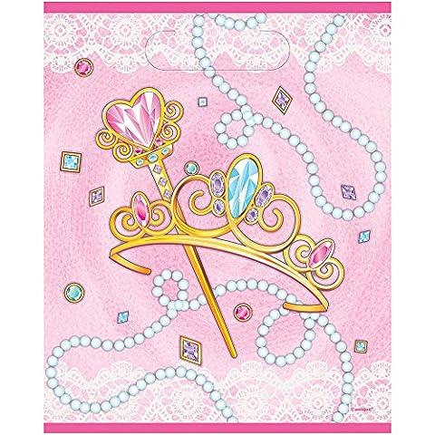 Rose Princesse Sacs cadeaux pour anniversaire Taille unique
